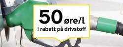 Drivstoffrabatt hos Statoil (Circle K)
